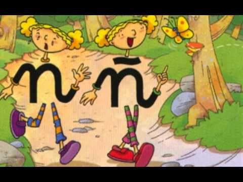 Las gemelas N y Ñ