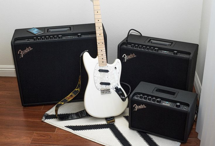 """""""If you Mustang around, you can make yourself useful by creating some unique signal chains on these amps!"""" www.fender.com #FenderOffsets #MustangGT"""
