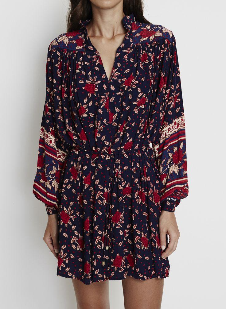Faithfull The Brand - Ellie Dress - Rose Garden Floral