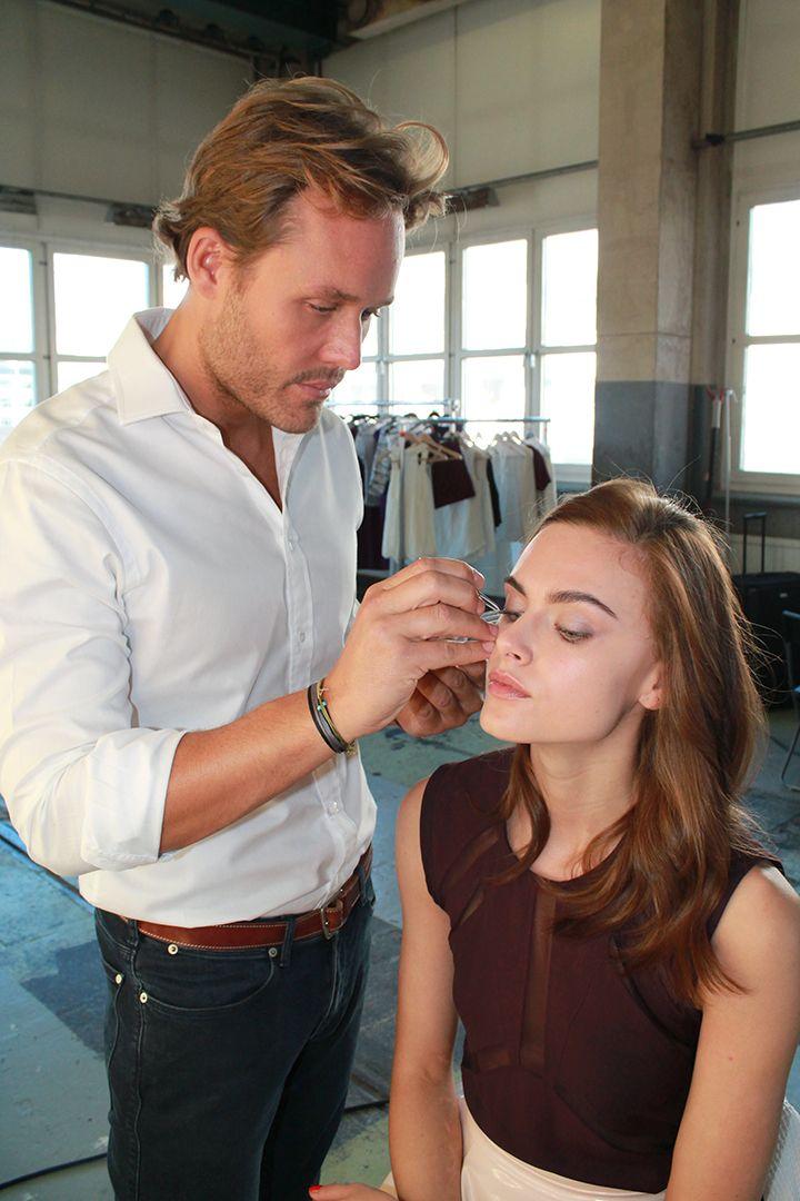 Jonas Wramell Make-Up Application