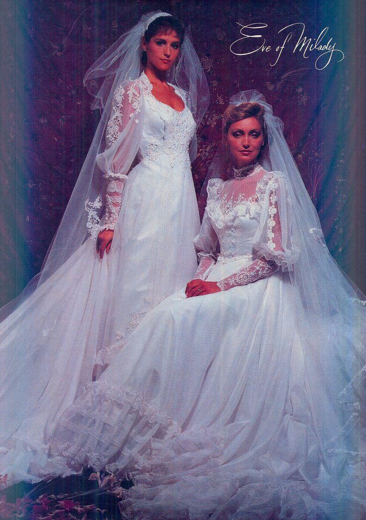 350 Best 1980s Wedding Dress Images On Pinterest