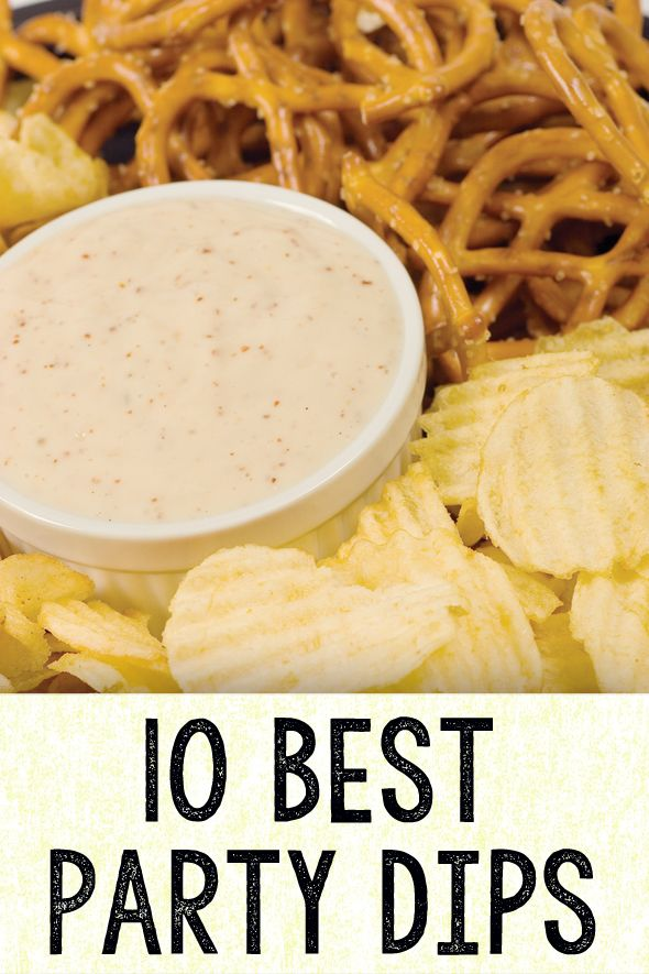 10 Best Party Dips - Pretty My Party