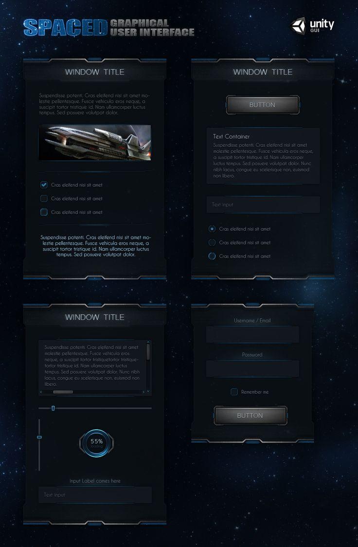 SpaceD UI by Evil-S.deviantart.com on @deviantART