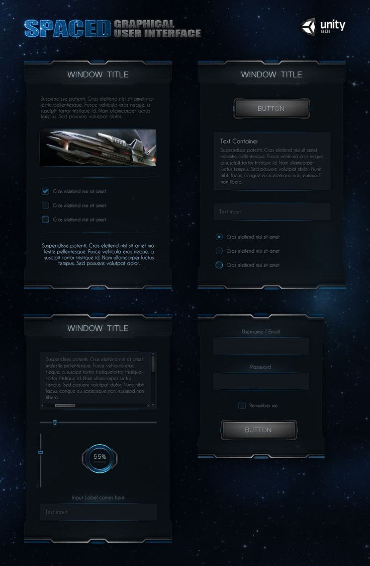 SpaceD UI by Evil-S.deviantart.com on @deviantART