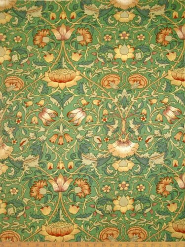 William Morris Vintage Liberty of London fabric. I triple heart it!