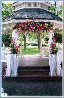 Wedding Gazebo Decorationa