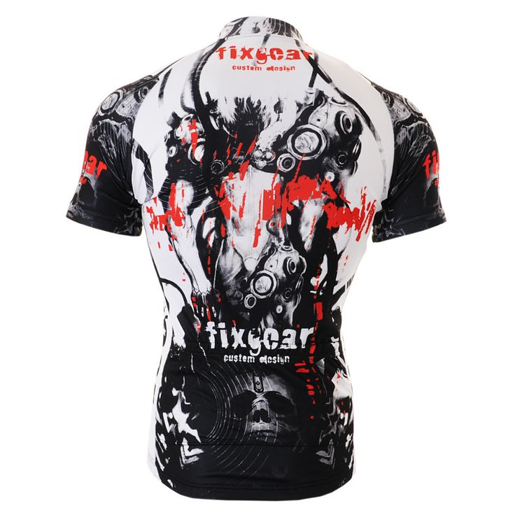 FIXGEAR CS-3002 Mens Short sleeve Cycling Jersey Road Bike Shirt MTB Bicycle wear / Cycling Short Sleeve Jerseys