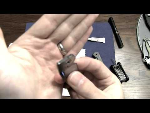 How To: Clean and Lube Chris Reeve Sebenza - YouTube