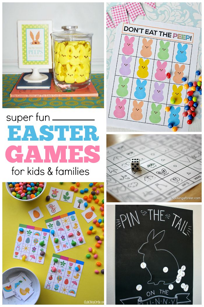 These fun Easter games will be the perfect addition to your holiday this year.