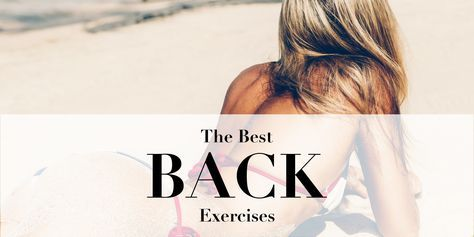 Top 10 back exercises to improve your posture and tone the muscles! Training your back muscles not only makes you look amazing in a backless dress but it also helps you realign the spine and stand up taller. A strong back is a great foundation for a healthy and strong body and these 10 exercises can help you achieve just that. So show your back muscles the same love that you give your abs, glutes, and legs and get all the aesthetic and functional benefits of training.
