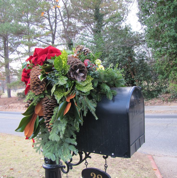 Decorate Your Mailbox for Christmas | Christmas Mailbox