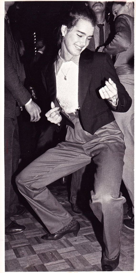"Original photograph Brooke Shields ""Dancing Style""-Studio 54, New York Dated 11/11/79"