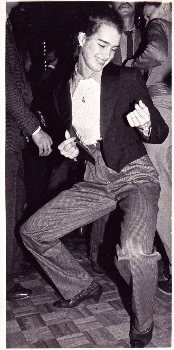 "Original photograph Brooke Shields ""Dancing Style""-Studio 54, New York Dated 11/11/79"