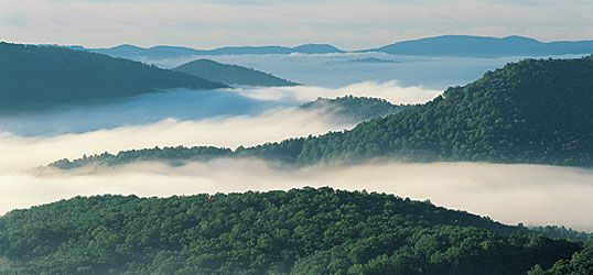 Blue Ridge Mountains ~ North Carolina, USA. Can't wait until next week!!!! This will be my view from the front porch of a cabin, pure relaxation...