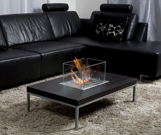 Create Your Own Fireplace Table Or Design Project With The Bio Blaze®  Insert Table