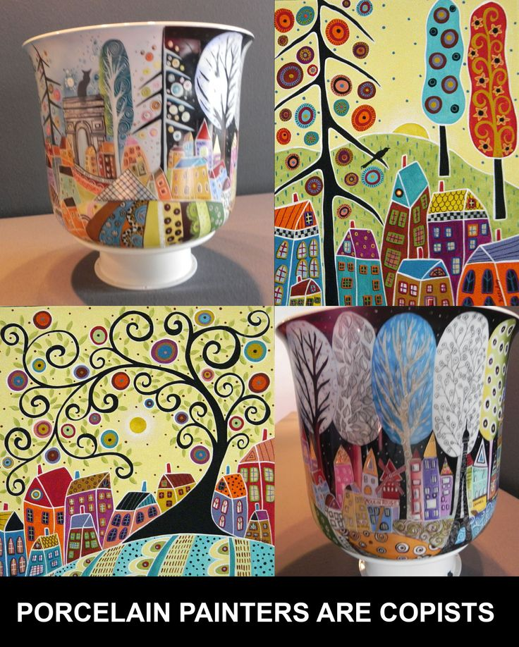 Copied porcelain vase. The model iis taken from a famous contemporary painter's artwork. The vase have been presented to an international competition in france. Is it fair ?