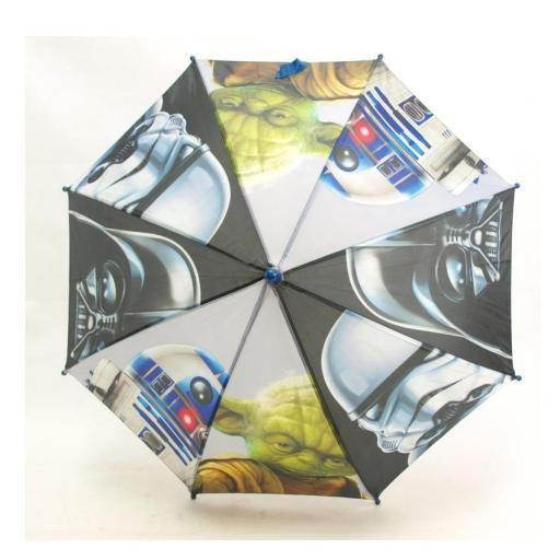 Paraguas manual 42 cm Star Wars con RD-D2