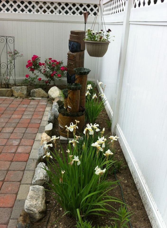 Garden Ideas, Backyard, Yard, Flower garden, Trees, Green spaces, Ponds, Fish Ponds, Nature living