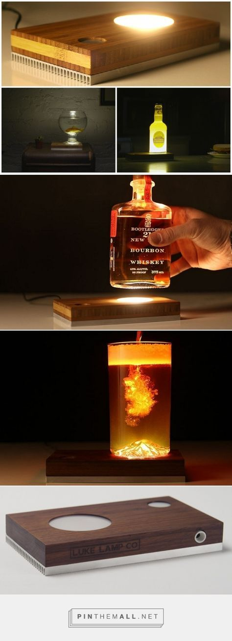 Baselamp - Make Your Own DIY LED Desk Lamp   Modern & Vintage   iD Lights - created via https://pinthemall.net