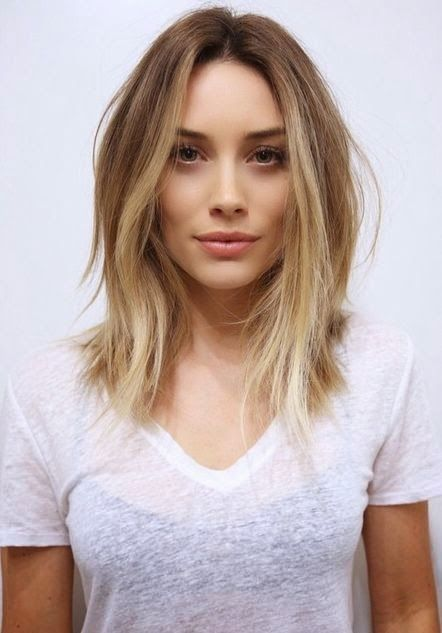 Wondrous 1000 Ideas About Mid Length Hairstyles On Pinterest Mid Length Short Hairstyles Gunalazisus