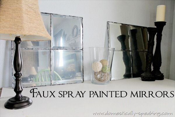 top 25 best spray paint mirror ideas on pinterest spray. Black Bedroom Furniture Sets. Home Design Ideas