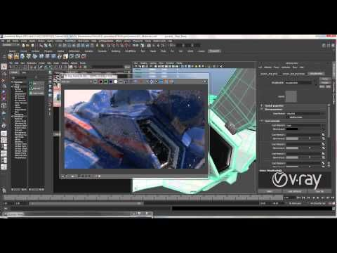 Vray Master Class – Production Lighting, Shading and Renderring techniques in V-Ray for Maya