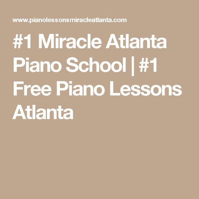 #1 Miracle Atlanta Piano School | #1 Free Piano Lessons Atlanta