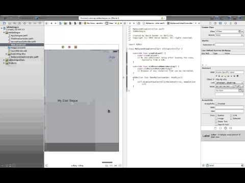 UICollectionView. Swift, Xcode 6 - YouTube