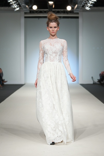 Long sleeves and lace - Katya Shehurina.