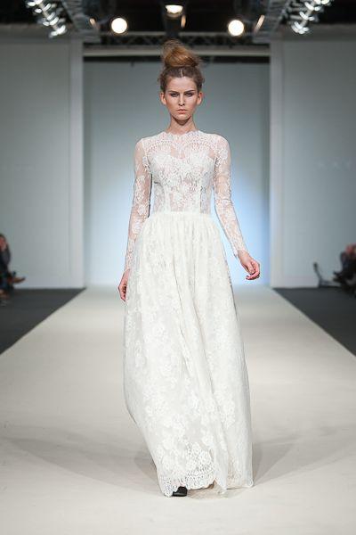 Long sleeves and lace - Katya Shehurina.