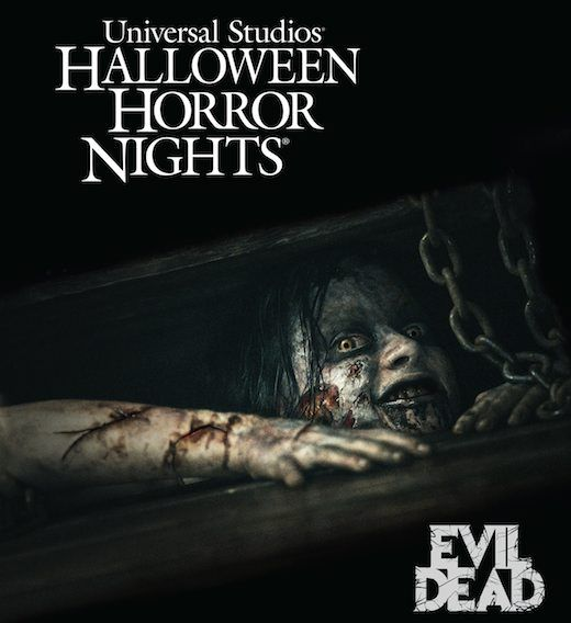 Universal Halloween Horror Nights announces 'Evil Dead' haunted house