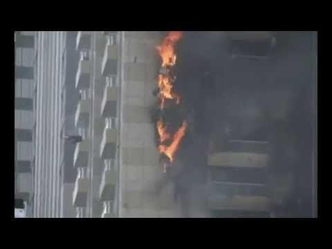 Dubai fire : Fire ripped through a 75-storey Dubai apartment