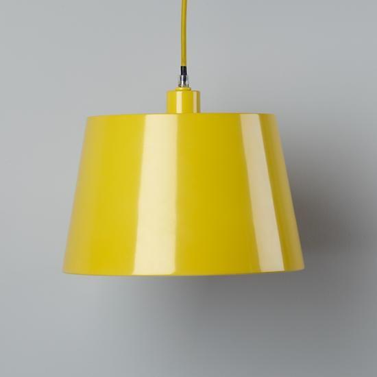 yellow pendant @landofnod