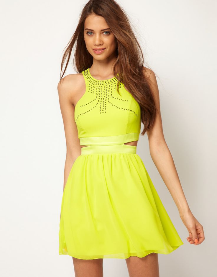 Best 20+ Neon yellow dresses ideas on Pinterest | Neon ...