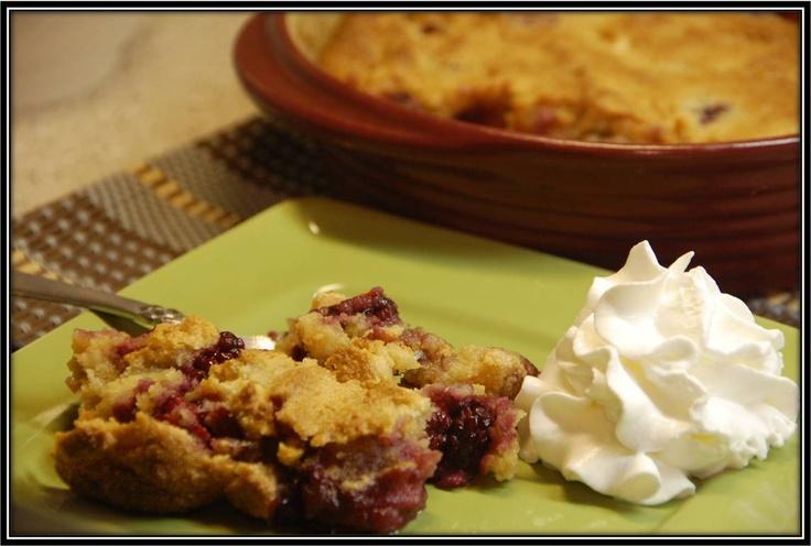More like this: apple cobbler , blackberries and apples .