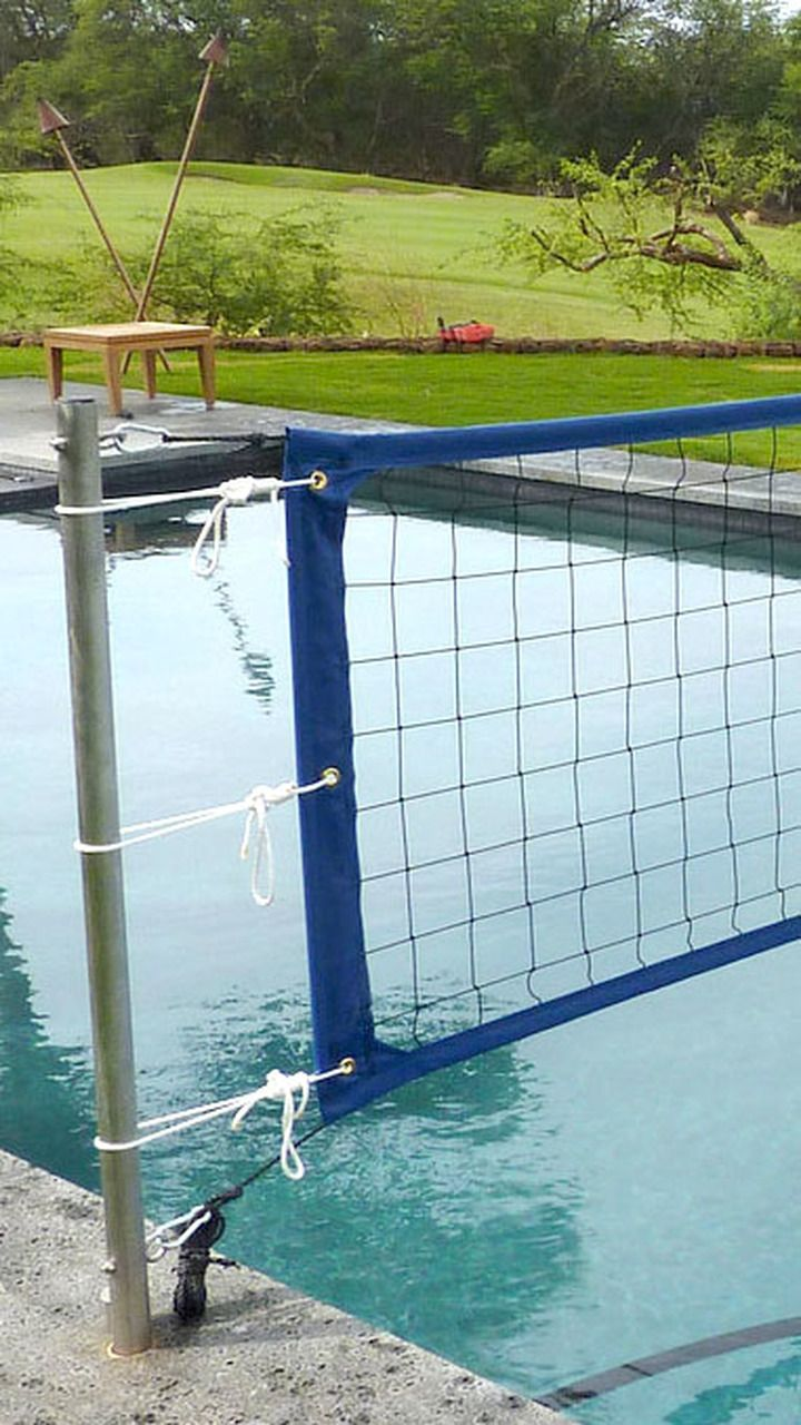 Hd2 Pool Net In 2020 Pool Nets Pool Volleyball Net Pool