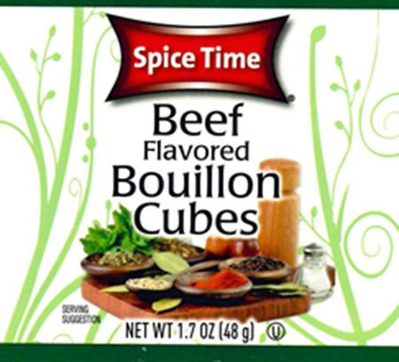 Celiac.com: Gel Spice Company, Inc. Issues Allergy Alert On Undeclared Soy And Wheat In Beef Flavored Bouillon Cube Products