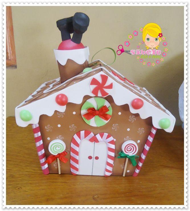 casa galletas navidad casas foamy goma eva proyectos navidad cositas lindas para visitar lugares para marinela intentar