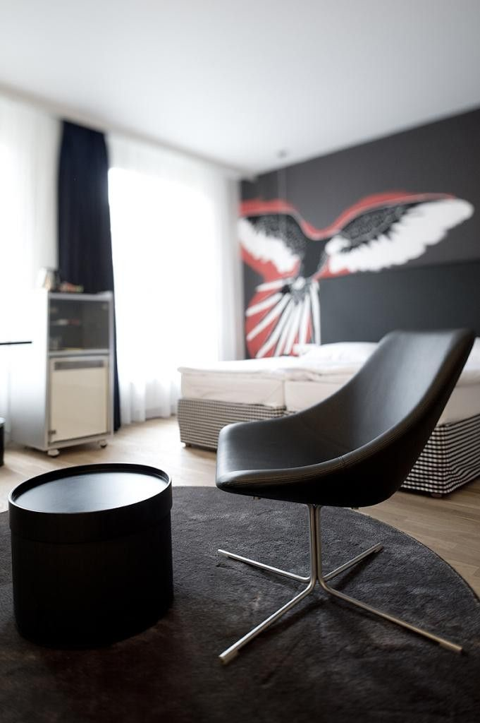 Black designed furniture