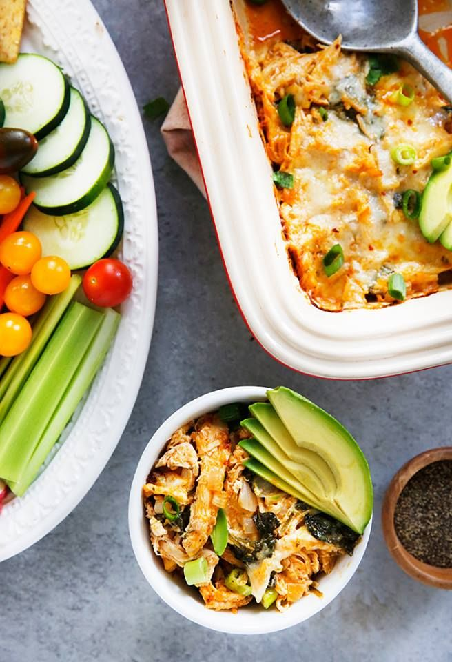 Buffalo Chicken Dip Lexi S Clean Kitchen Healthy Eating Recipes Healthy Shredded Chicken