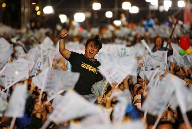 Tsai Ing-wen becomes Taiwan president in landslide victory - The Express Tribune