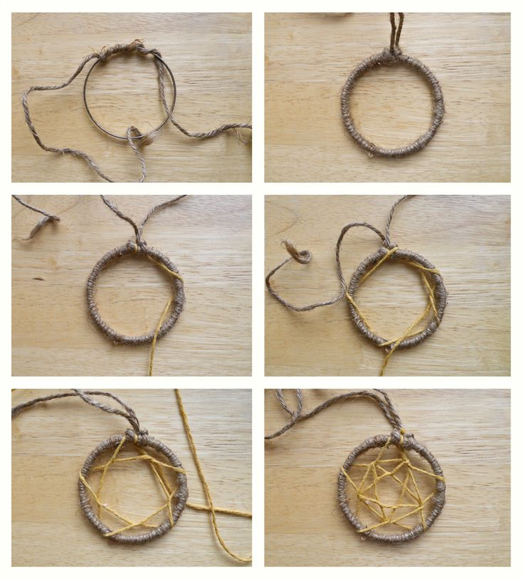 Make dream catchers step by step step by step for Dream catchers how to make them
