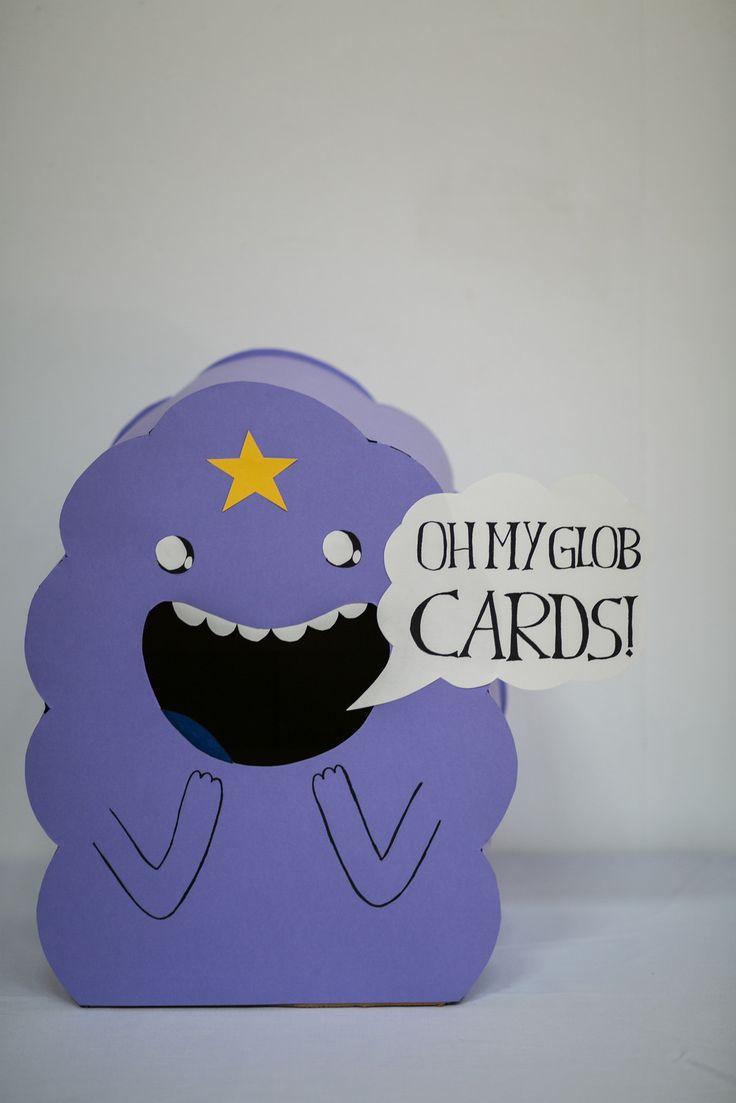 Adventure Time / Lumpy Space Princess card box!