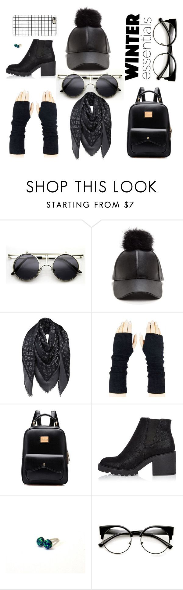 """Winter by Nikush"" by nikush-14263369628 ❤ liked on Polyvore featuring ZeroUV, Louis Vuitton, River Island, Casetify, Winter, topfashion, 2016 and Nikush"