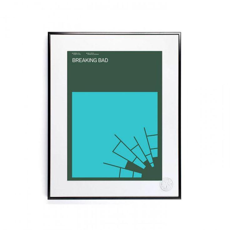 ICONIC TV by Exergian – Breaking Bad Affisch | Image Republic | Länna Möbler | Handla online