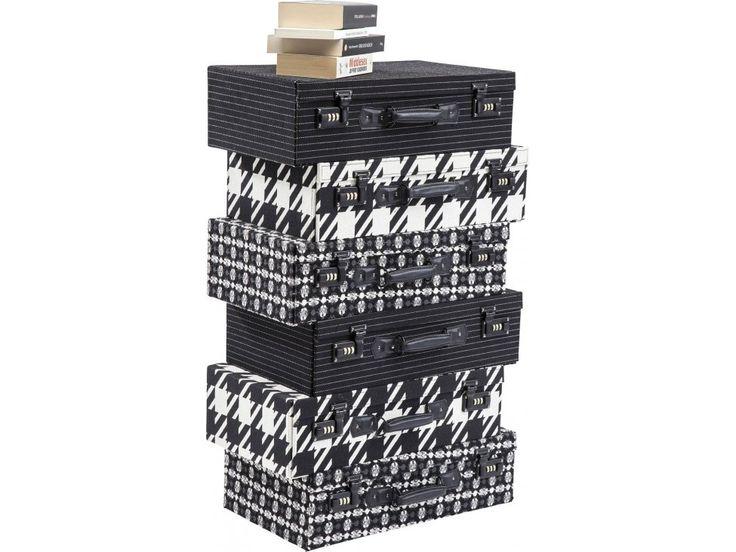 Komoda Suitcase II — Komody Kare Design — sfmeble.pl