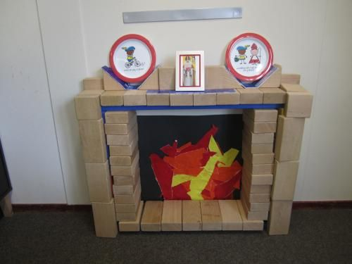 Bouwhoek: sint schoorsteen bouwhoek