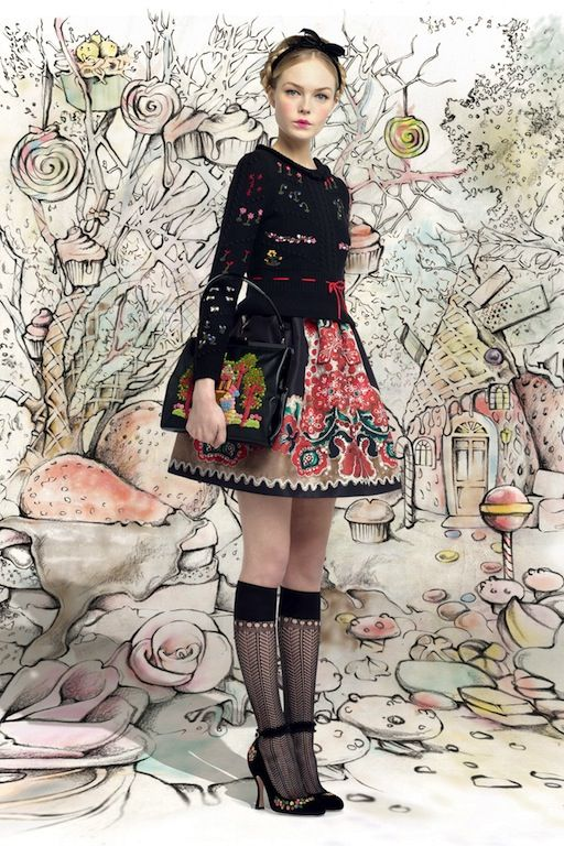 RED Valentino Hansel & Gretel Fall 2013 Collection
