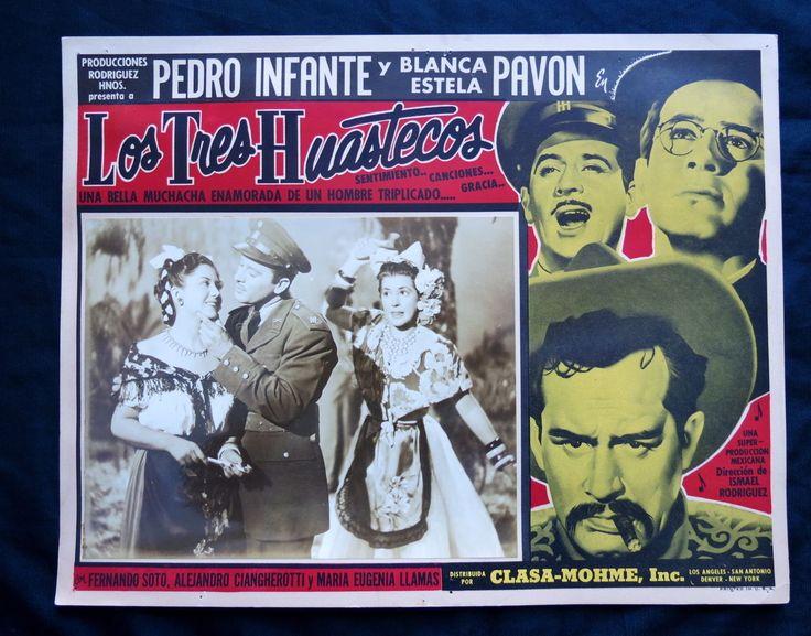 "Pedro Infante ""Los Tres Huastecos"" Blanca Estela Pavon Lobby Card Photo 1948 | eBay"