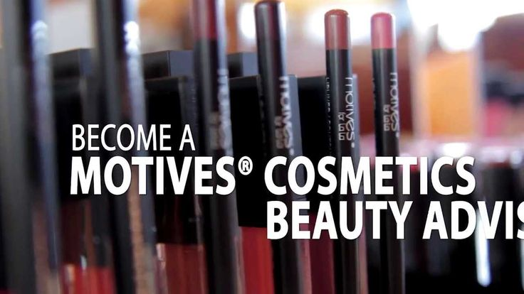 Represent Motives for LaLa & Motives® Cosmetics Beauty Advisor, get access to Motives Mavens palettes